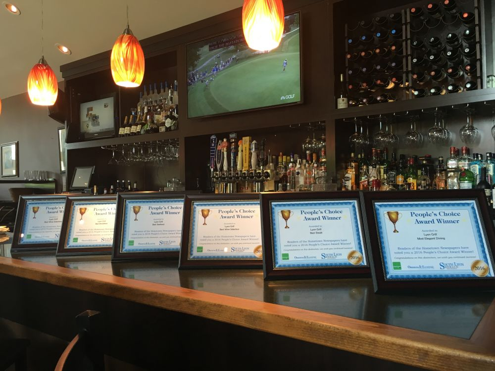 Lyon Grill Wins 6 Peoples Choice Awards!